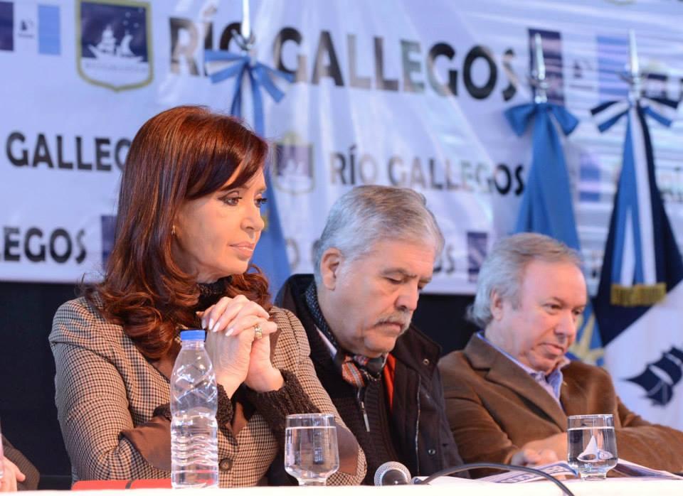 Cristina en Rio Gallegos