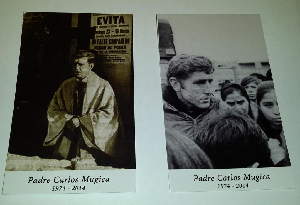 Hoy por la tarde, celebración de la vida del padre Carlos Mugica.