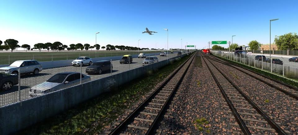 La Presidenta inauguró, junto a Macri, la ampliación de la autopista Illia