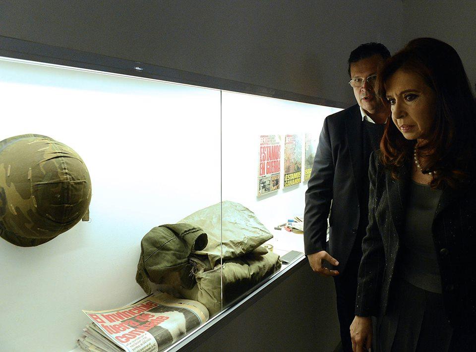 Cristina Kirchner inauguró el Museo de Malvinas Argentinas en el Espacio de la Memoria (ex Esma)