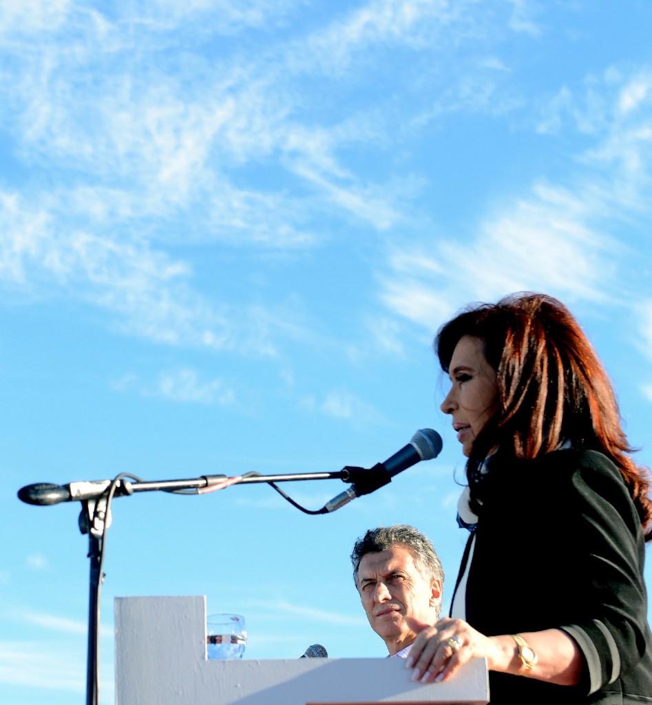 Cristina con Macri