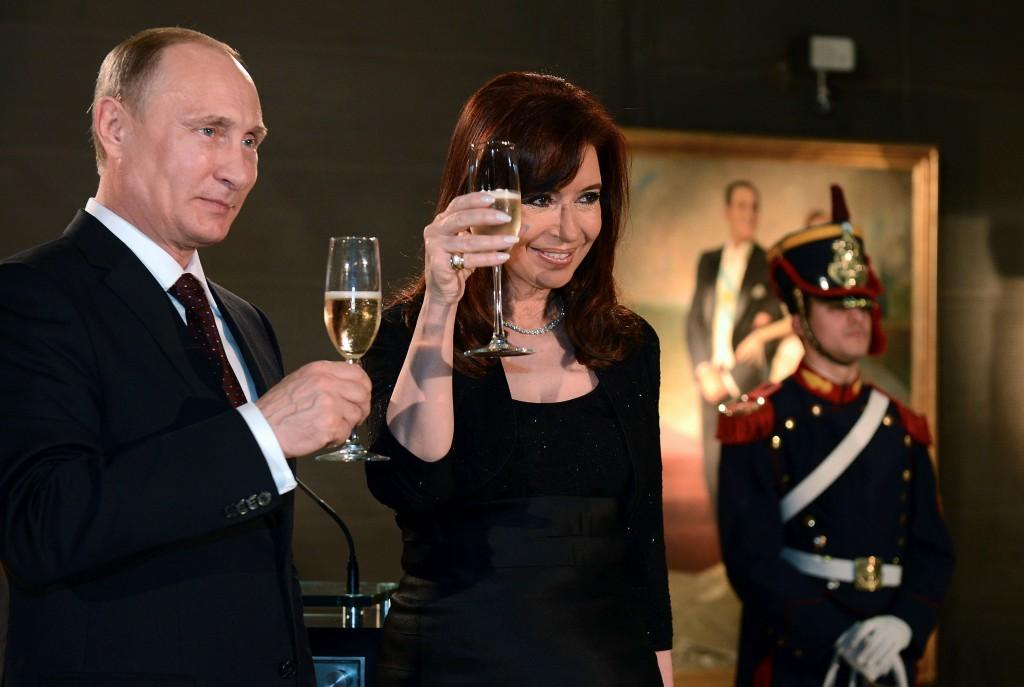 Cena de honor al Presidente de la Federación Rusa, Vladimir Putin, en visita oficial a nuestro país.