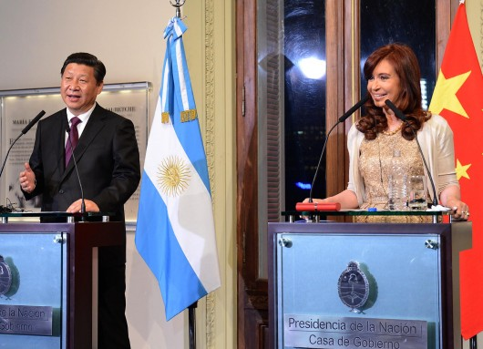 Firma de convenios bilaterales entre los gobiernos de Argentina y China.