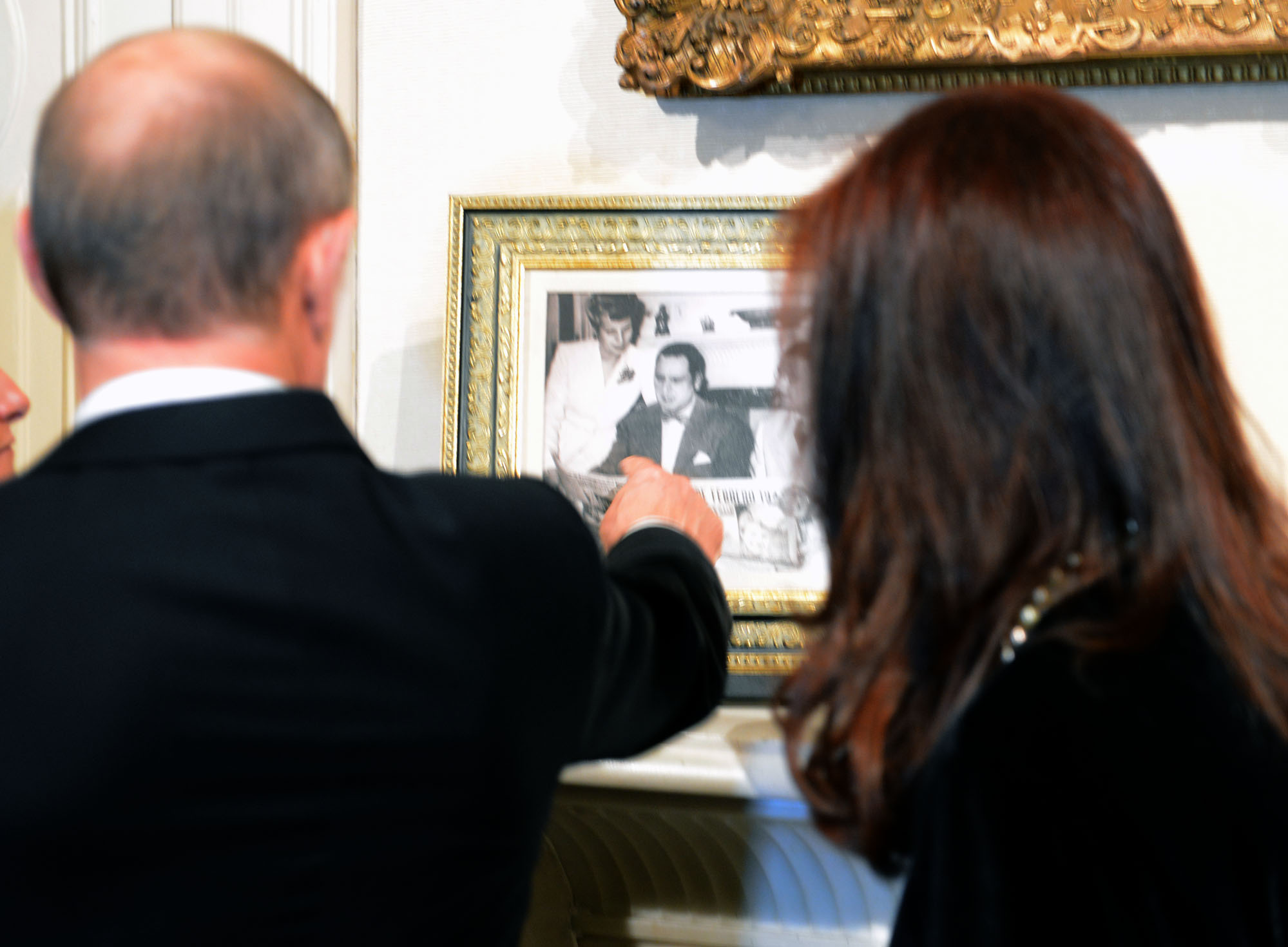 Cristina y Putin en Argentina