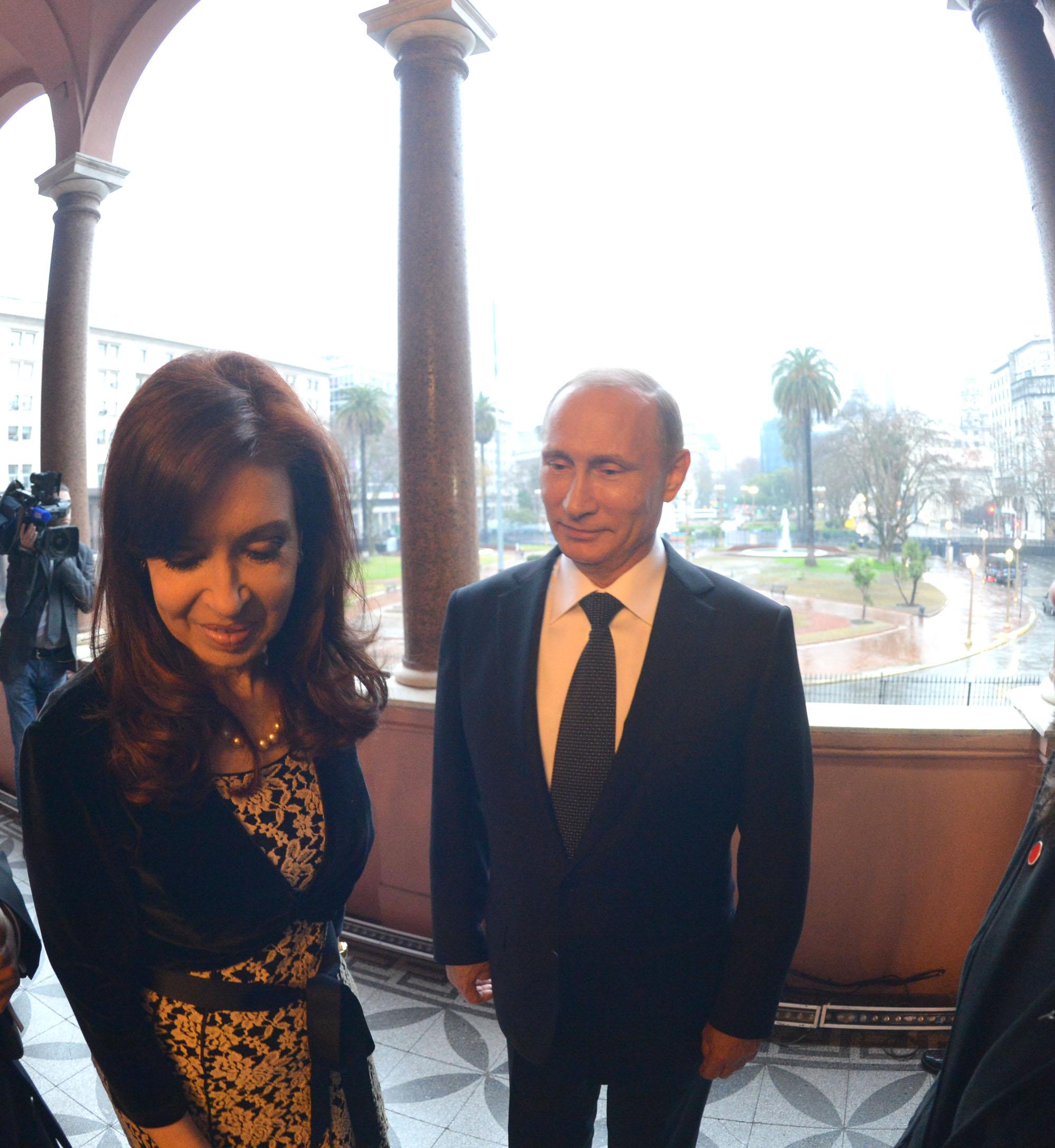 Cristina Kirchner y Putin
