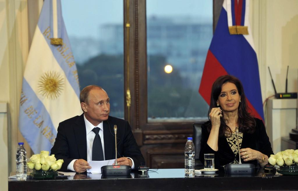 Presidente de la Federación Rusa Vladimir Putin en visita oficial