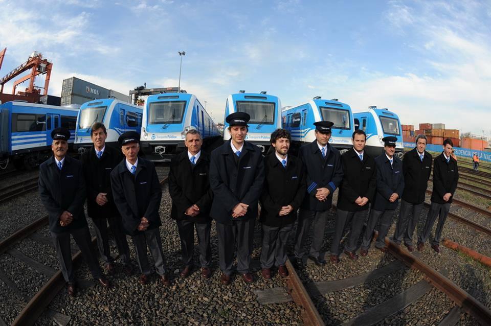 Recibimos las últimas 8 formaciones que completan la nueva flota de la Linea Sarmiento.