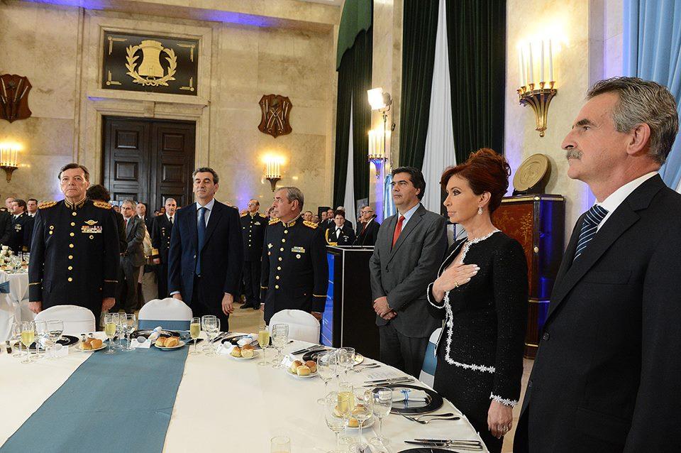 Cena anual de Camaradería de las Fuerzas Armadas.