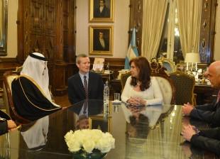 Audiencia con el Ministro de Turismo de Arabia Saudita.