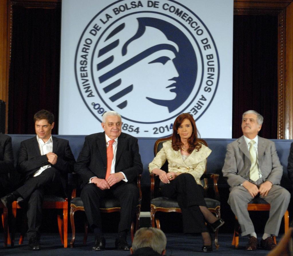 160° Aniversario de la Bolsa de Comercio de Buenos Aires.