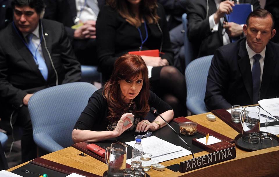 #ONU Exposición argentina en el Consejo de Seguridad. #CFK
