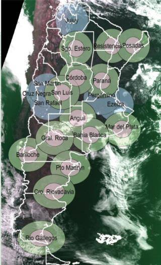 Cristina Fernandez de Kirchner firma el contrato para la finalización del Sistema Nacional de Radares Meteorológicos (SINARAME). INVERSIÓN: $ 317 millones + $ 74 millones ya invertidos = $ 391 millones.