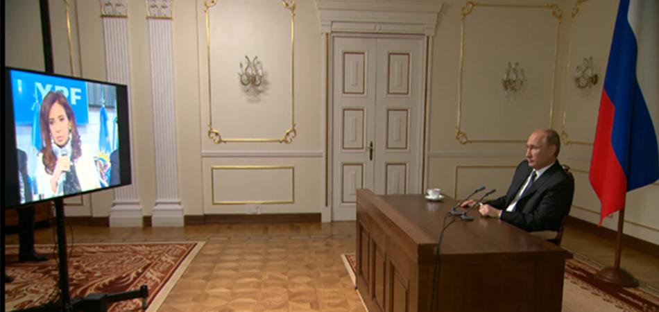 CFK-videoconferencia
