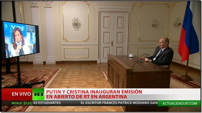 Conferencia con Putin