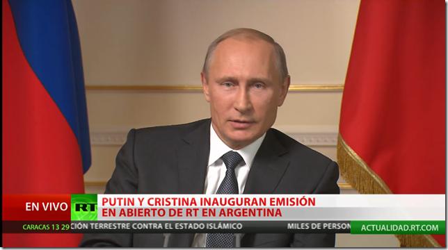Presidente Putin TDA
