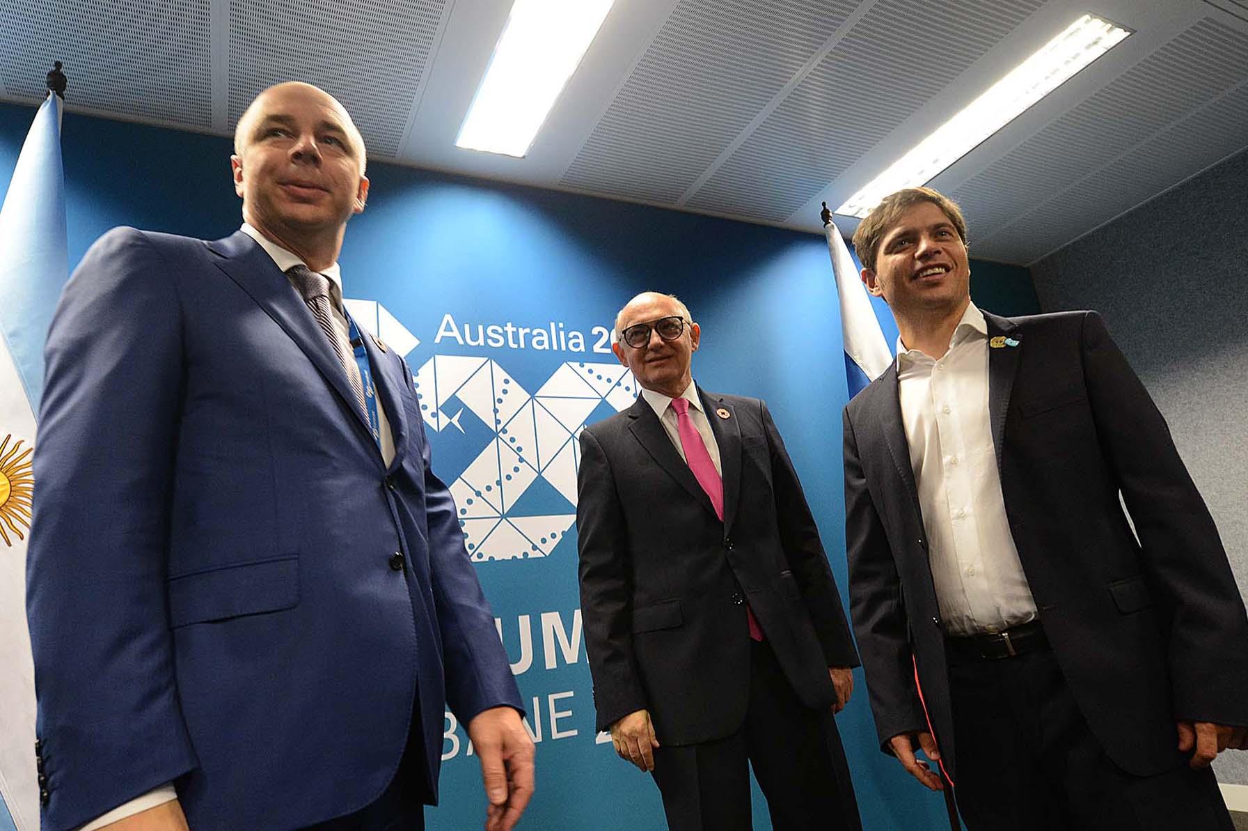 El_ministro_de_Economía,_Axel_Kicillof,_se_reunió_con_su_par_de_Rusia,_Anton_Siluanovn