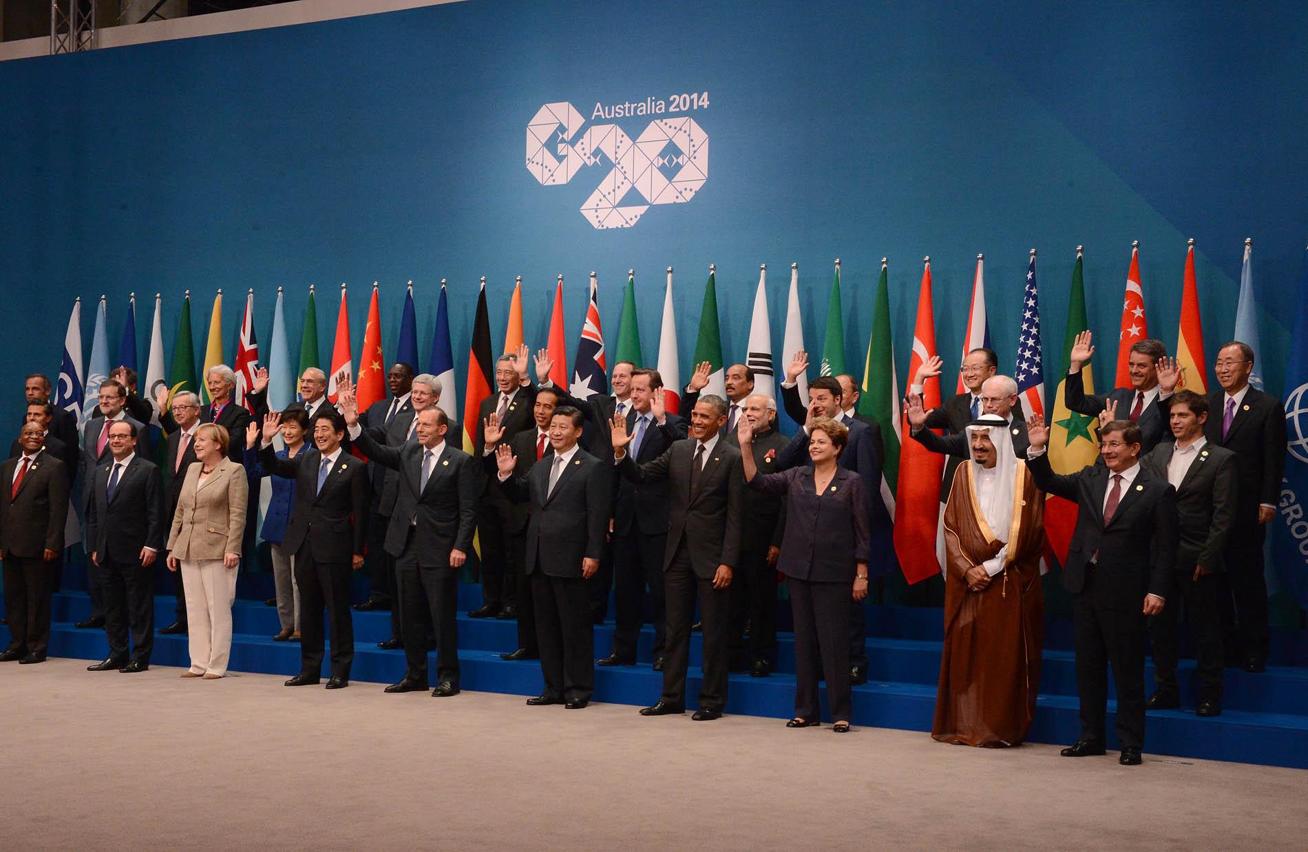 G20 Australia Timerman y Kicillof