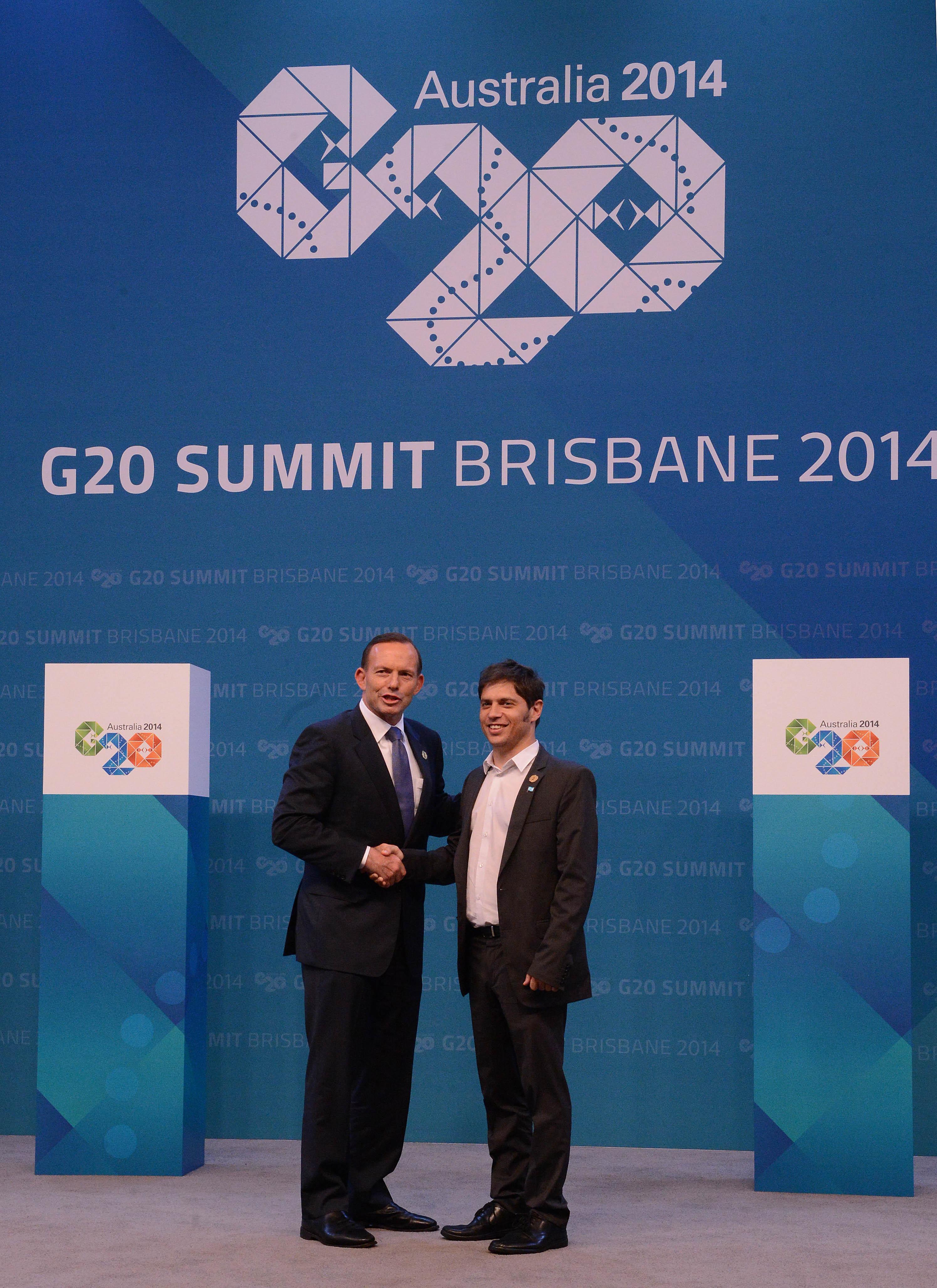 Axel Kicillof en G20 Australia