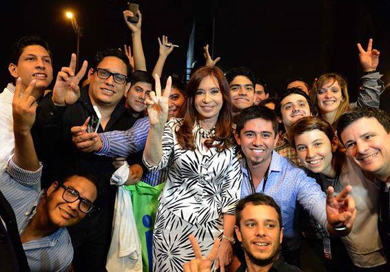 Cristina en la Cumbre de Unasur en Guayaquil.