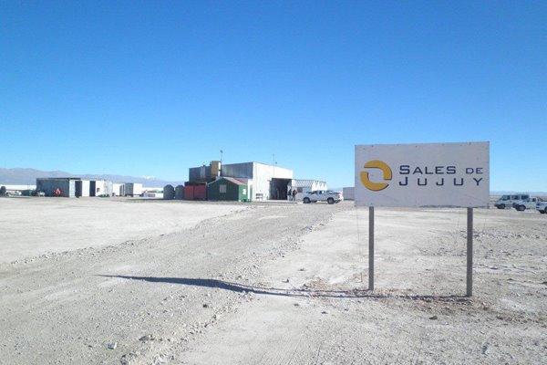 Proyecto de litio Sales de Jujuy en el salar de Olaroz; inversión de $ 1.250 millones.
