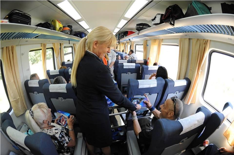El tren llegó a Mar del Plata