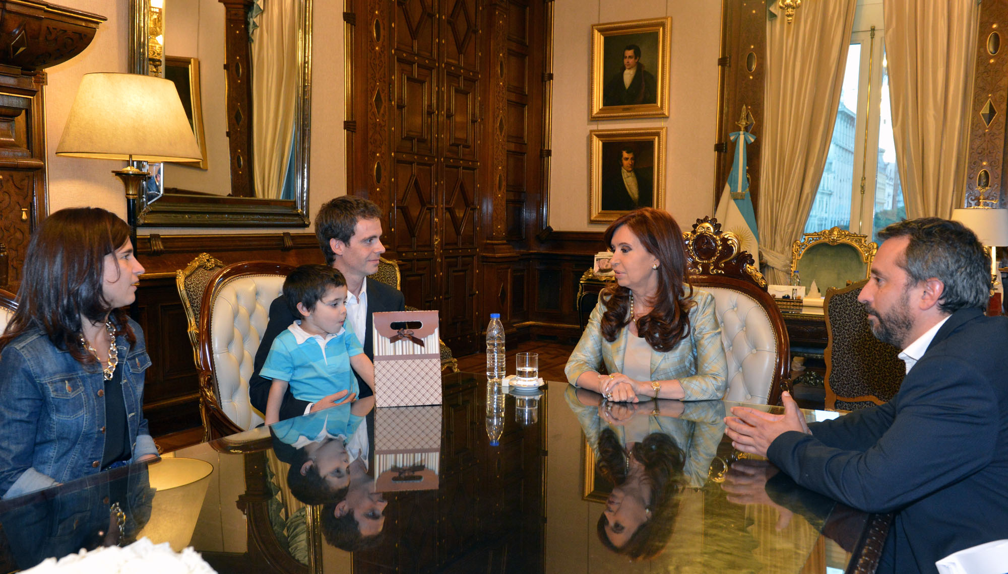 Cristina recibió a Jorge Castro Rubel, el nieto recuperado 116