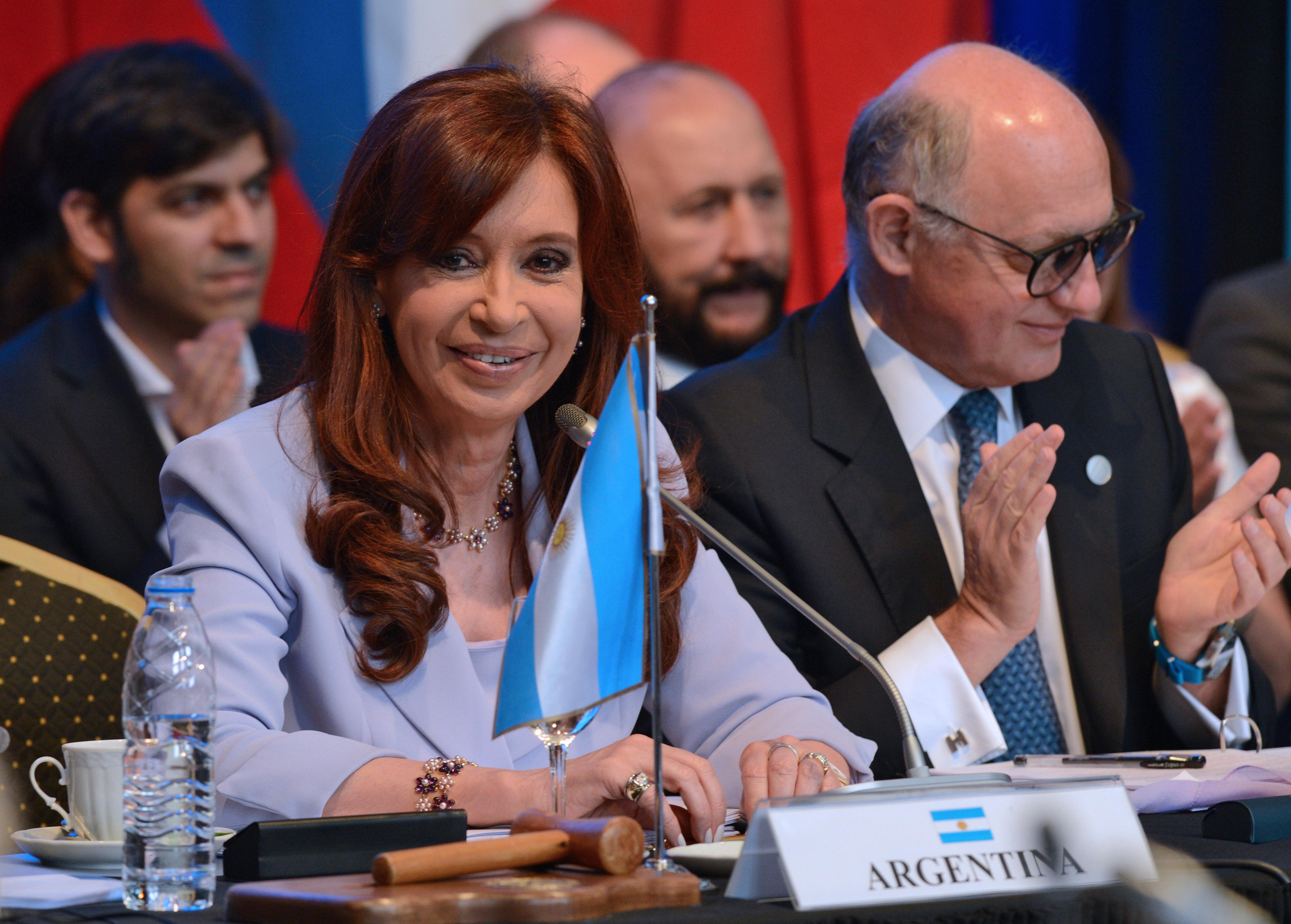 Cristina en el Mercosur en Parana