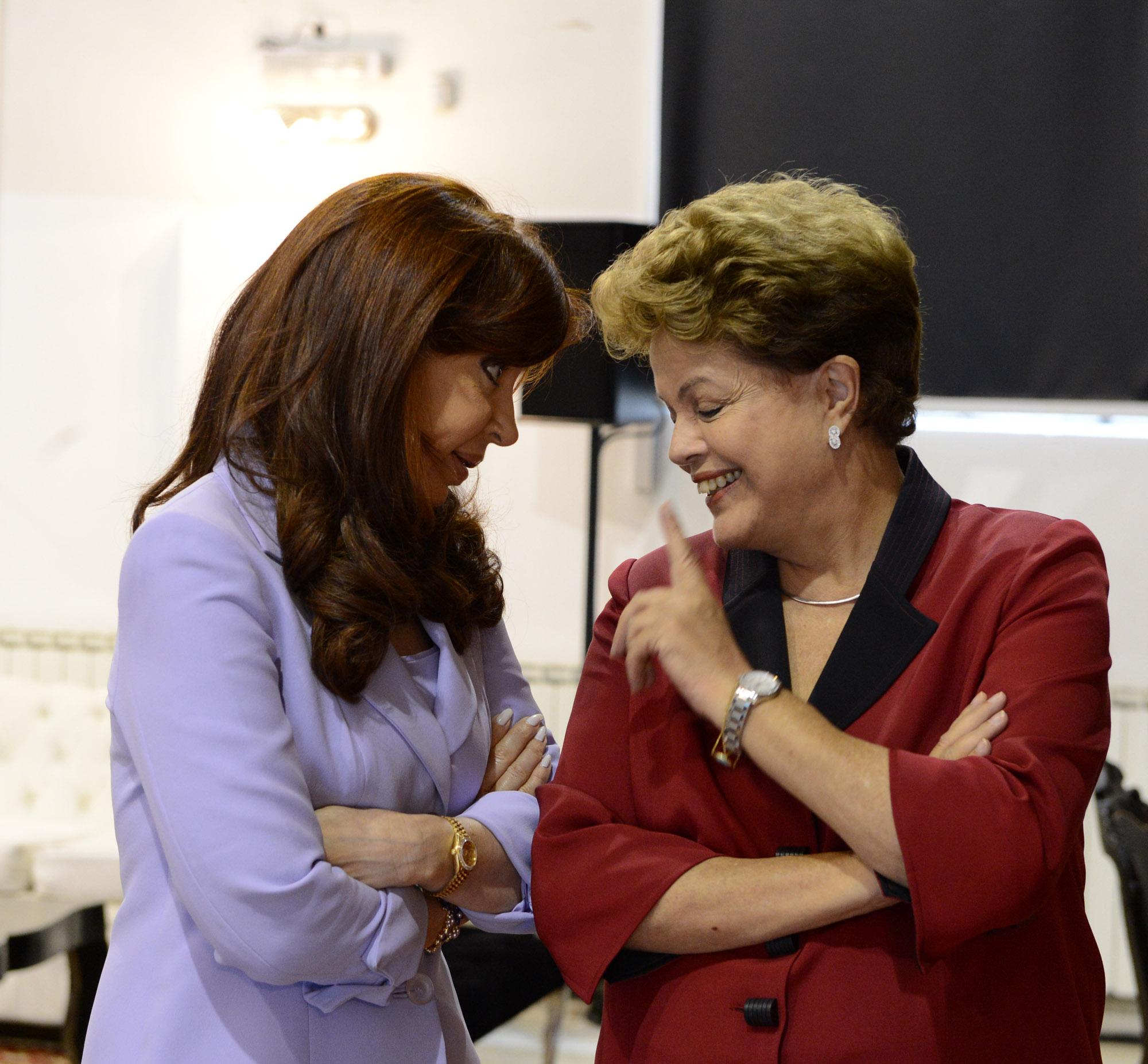 Cristina y Dilma en Mercosur, Parana