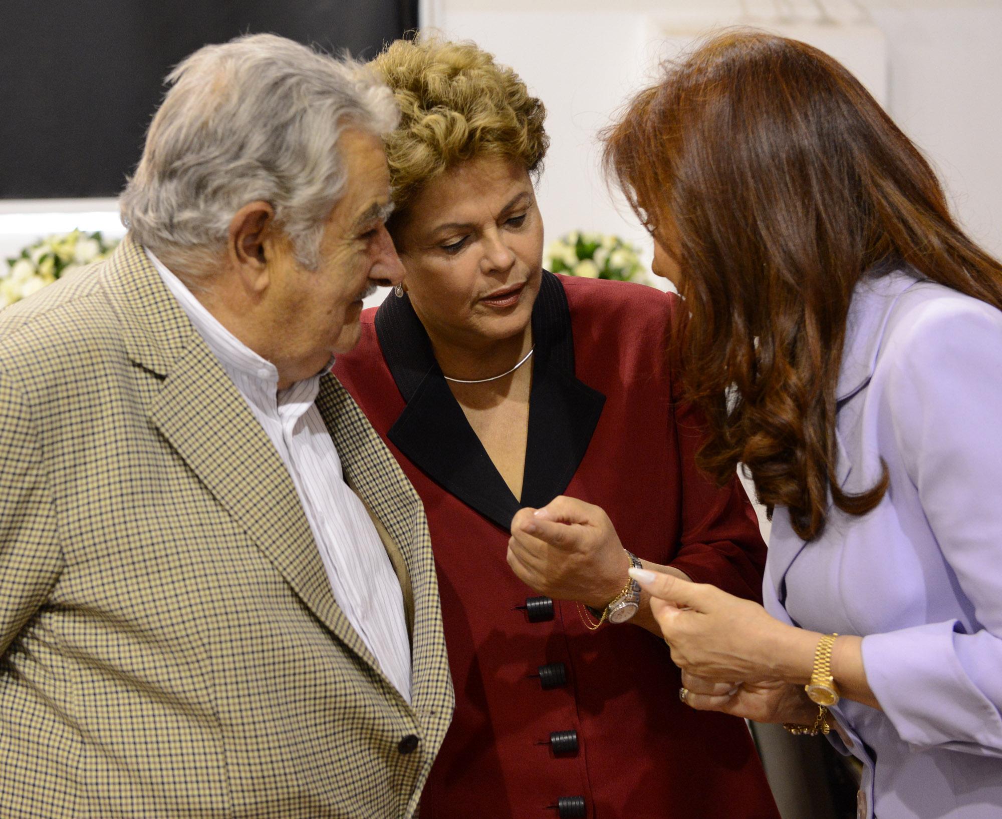 Cristina en Mercosur, Parana