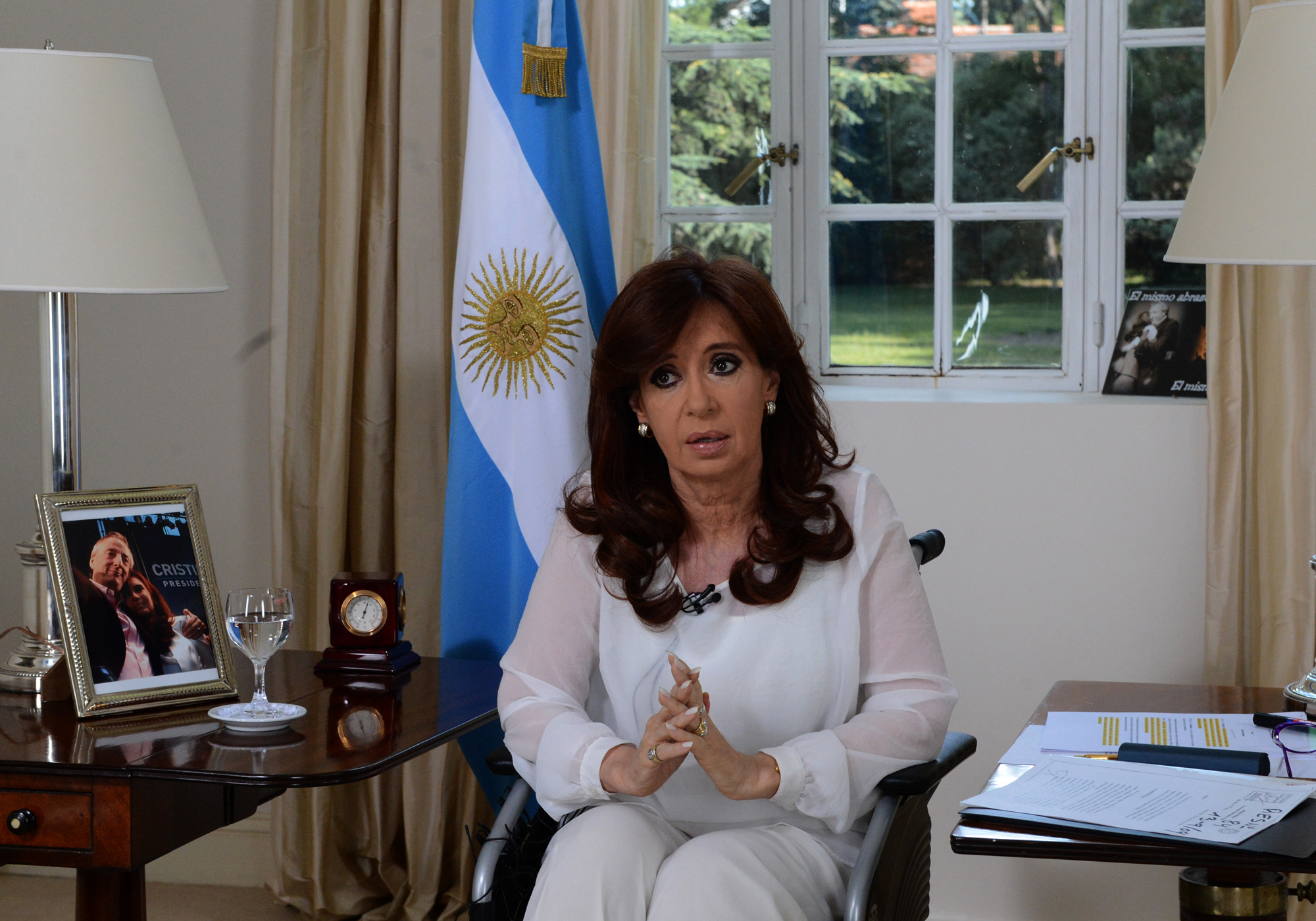 Cristina dice estar a favor del EI:
