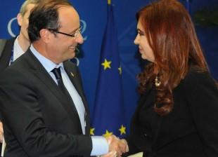 Carta de Francoise Hollande a Cristina Fernández