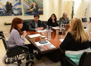Audiencia con integrantes de Memoria Activa en Olivos