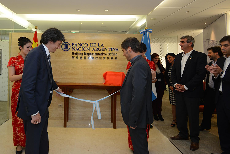 Ah, me olvidaba… el Banco Nación ya cuenta con su primera sucursal en China. Se inauguró hoy.