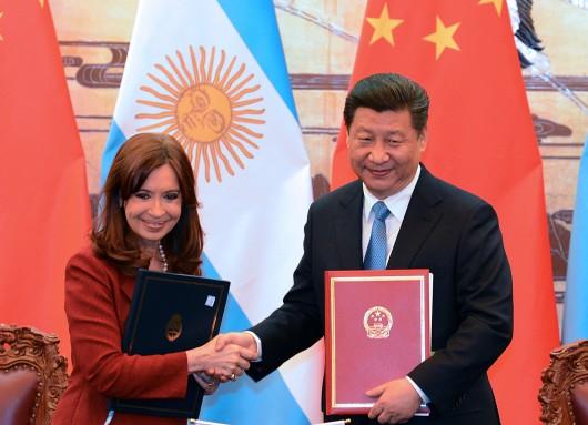 Los mandatarios de Argentina y China firmaron la Declaración para Fortalecer la Asociación Estratégica Integral y convenios de cooperación