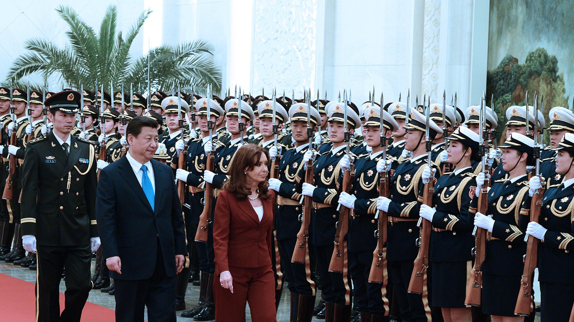 Cristina con Xi Jinping, ratificó la alianza Argentina - China.