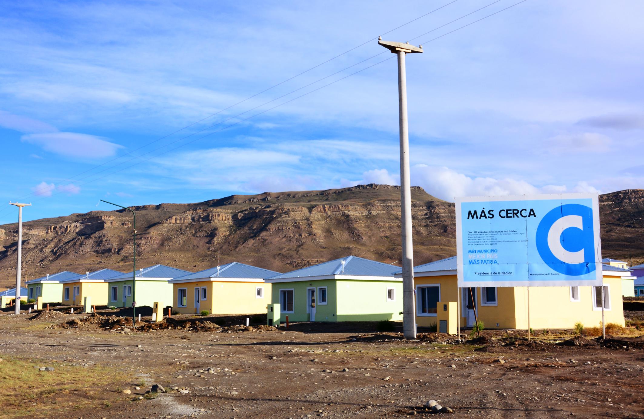 CFK en Calafate: Nuevas viviendas y estreno del Anfiteatro