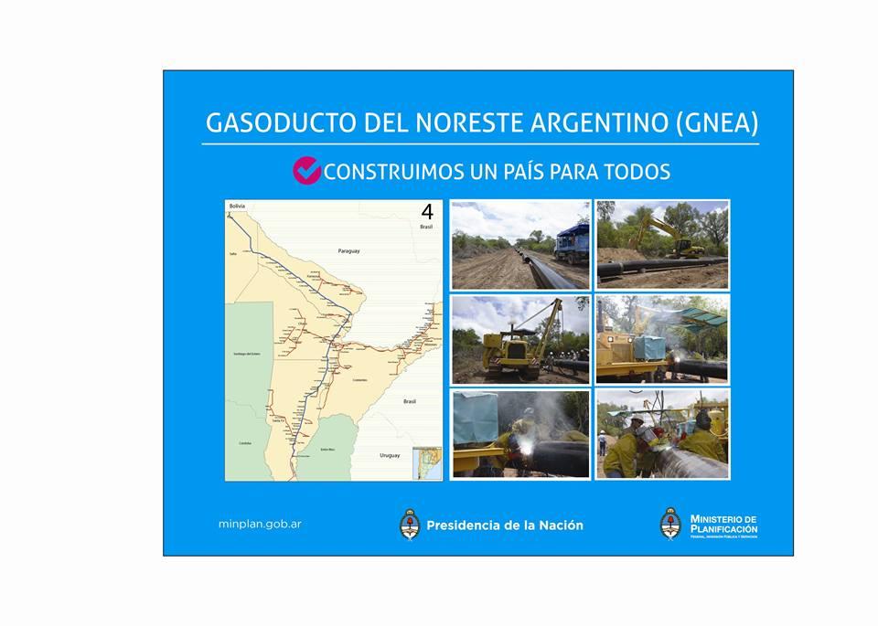 COMENZÓ LA CONSTRUCCIÓN DEL GASODUCTO DEL NORESTE.