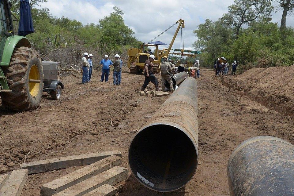 El Gasoducto del Noreste abastecerá a 3.400.000 habitantes de 168 localidades de 6 provincias.