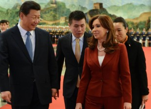 Cristina con Xi Jinping, ratificó la alianza Argentina - China