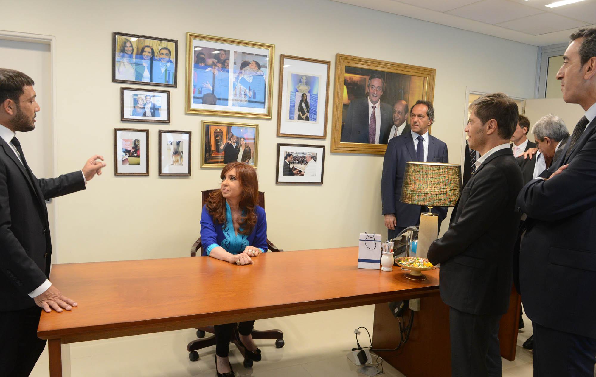 Cristina Kirchner en Berazategui.
