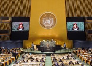 Cristina Kirchner UN 2014