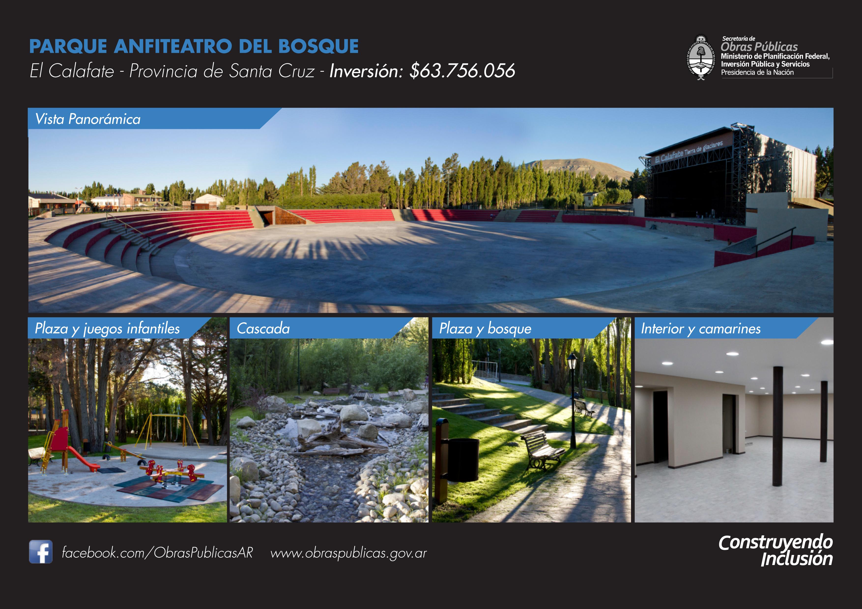CFK en Calafate: Nuevas viviendas y estreno del Anfiteatro.
