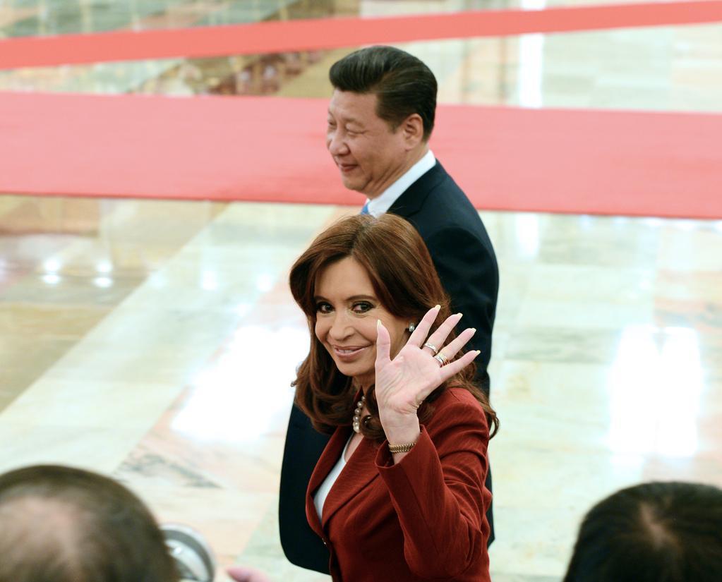 Cristina Kirchner en Twitter.