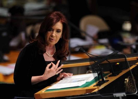 Cristina Kirchner at UN 2012