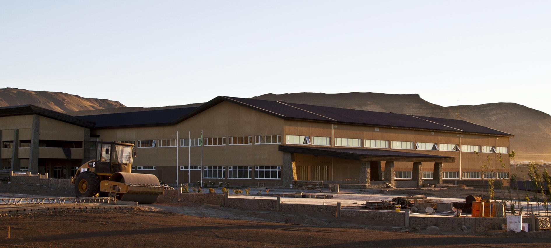 Inauguración del hospital de alta complejidad Gobernador Cepernic-Presidente Kirchner en El Calafate.