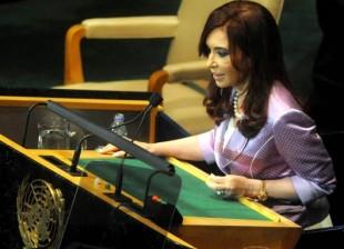 Cristina Kirchner UN 2010