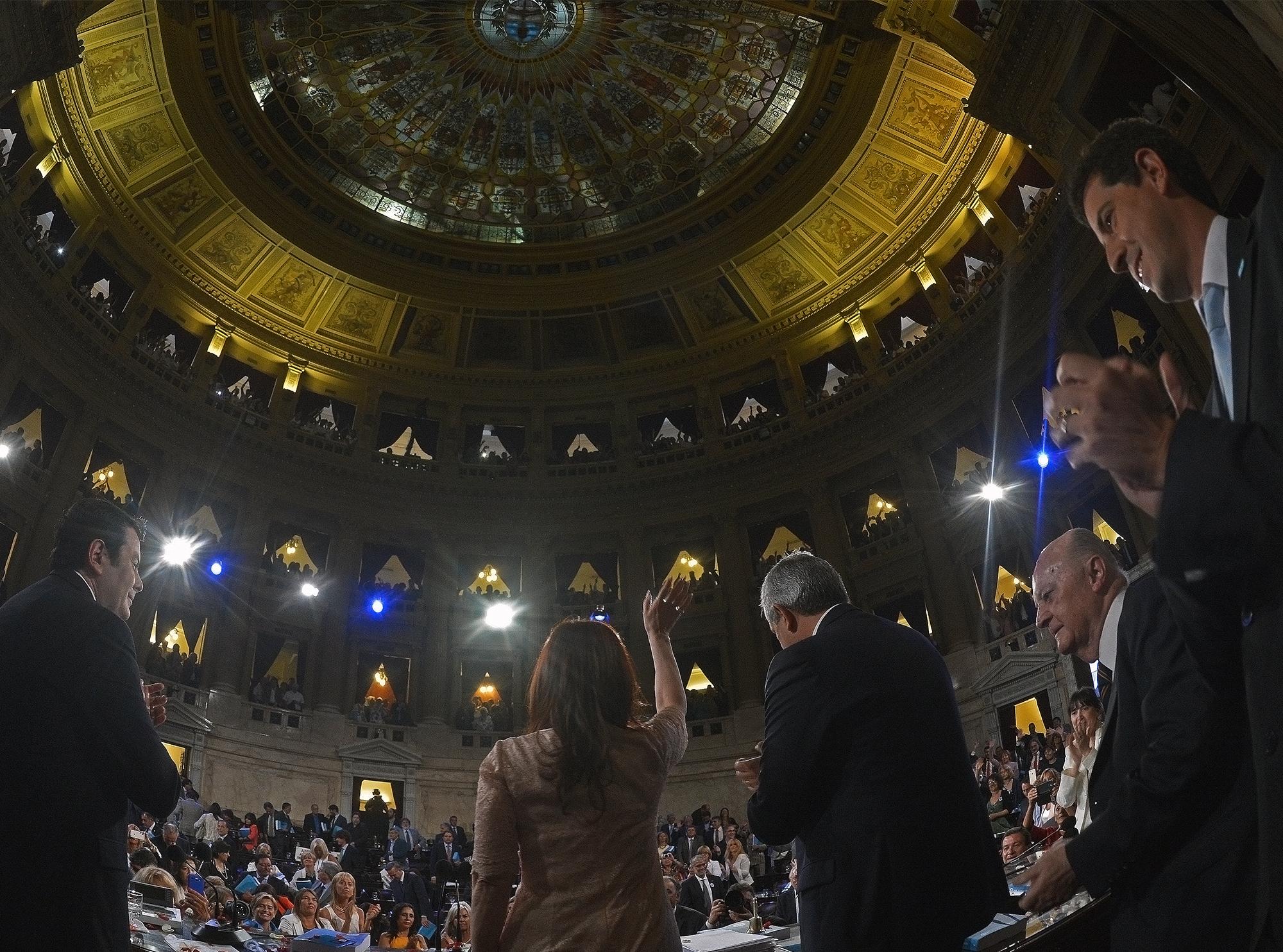 Apertura del 133° período de sesiones ordinarias del Congreso de la Nación.