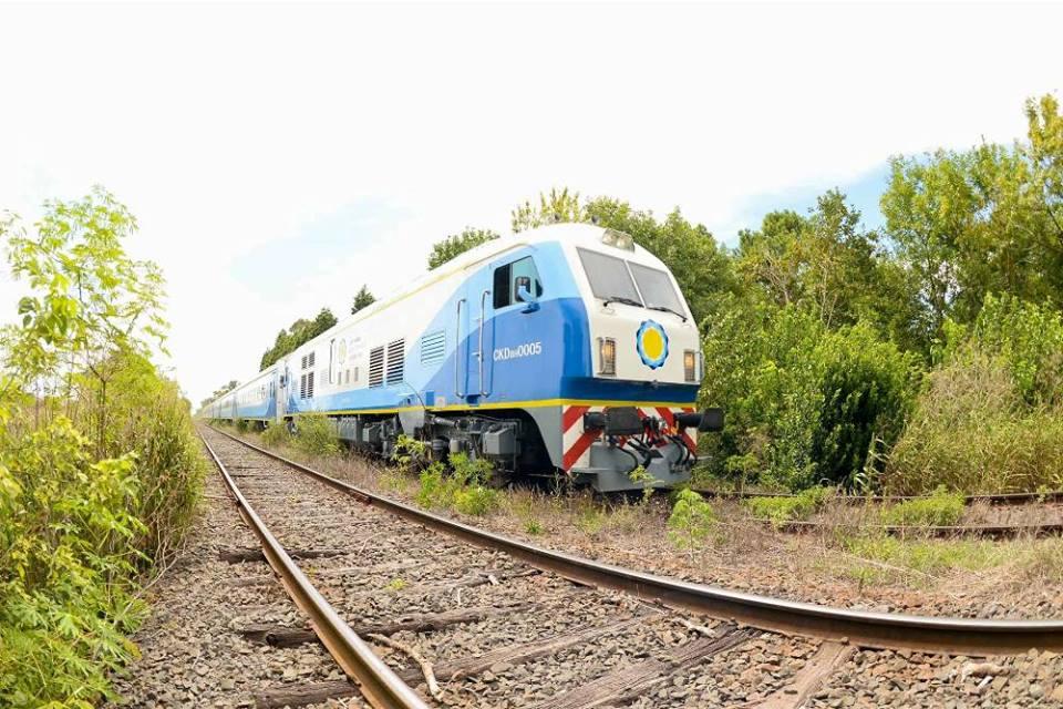 El nuevo tren a #Rufino