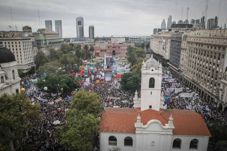 A 39 años de golpe cívico- militar del 24 de marzo de 1976
