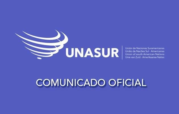 Comunicado de UNASUR